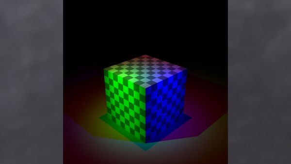 Feature 3: Spotlight and texture mapping